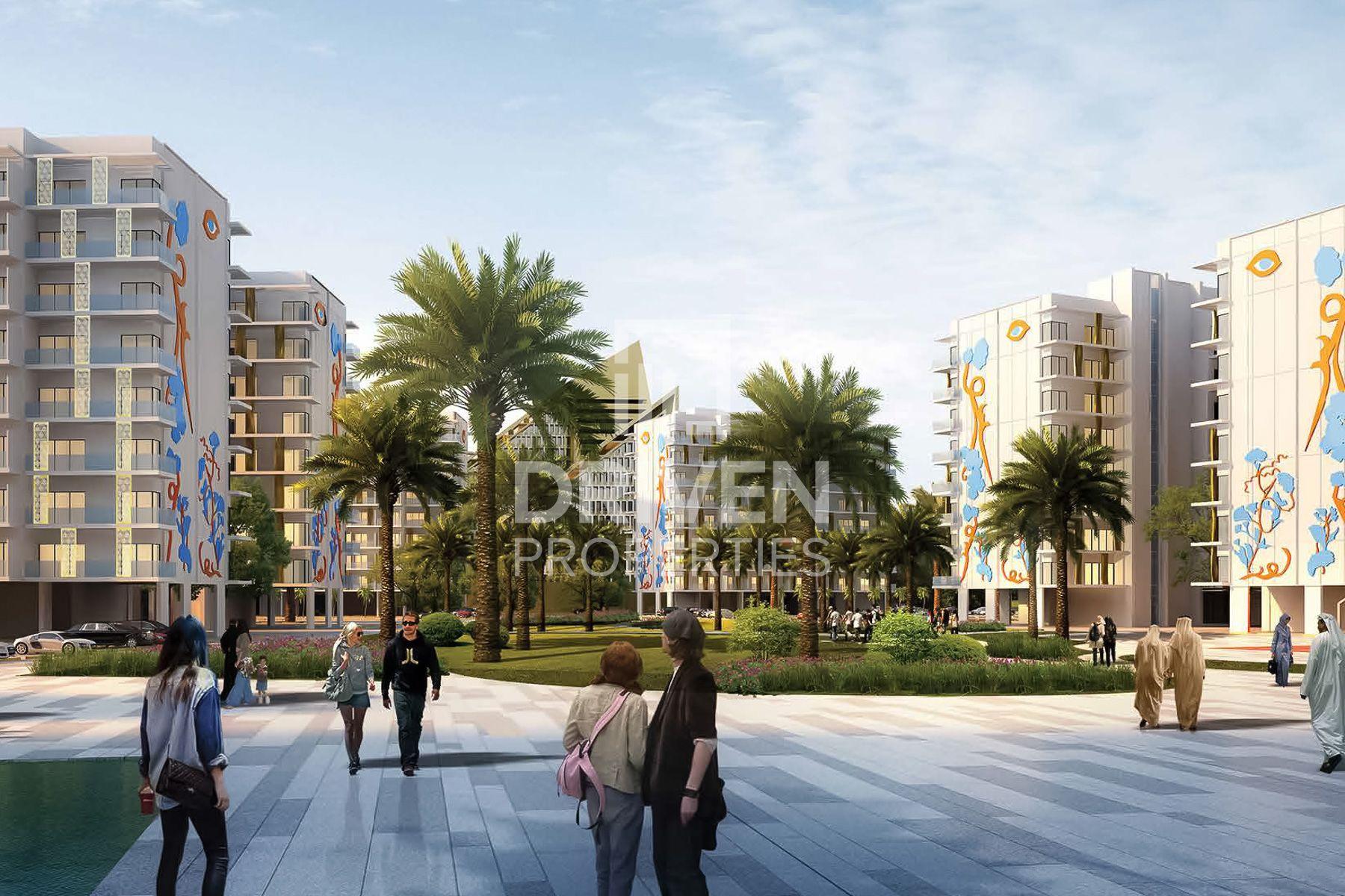 300 قدم مربع  ستوديو - للبيع - مدينة الشيخ محمد بن راشد