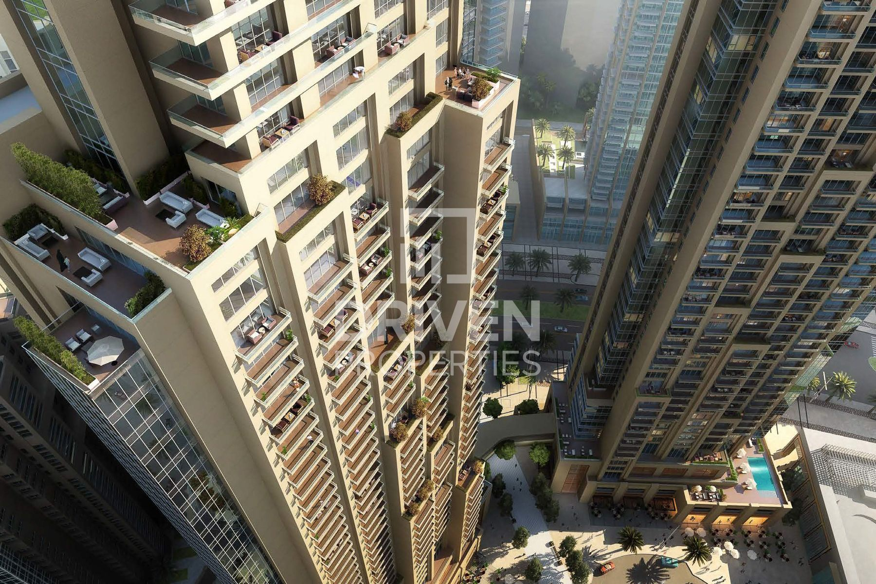 Hotel apartment for Sale in Act One - Downtown Dubai