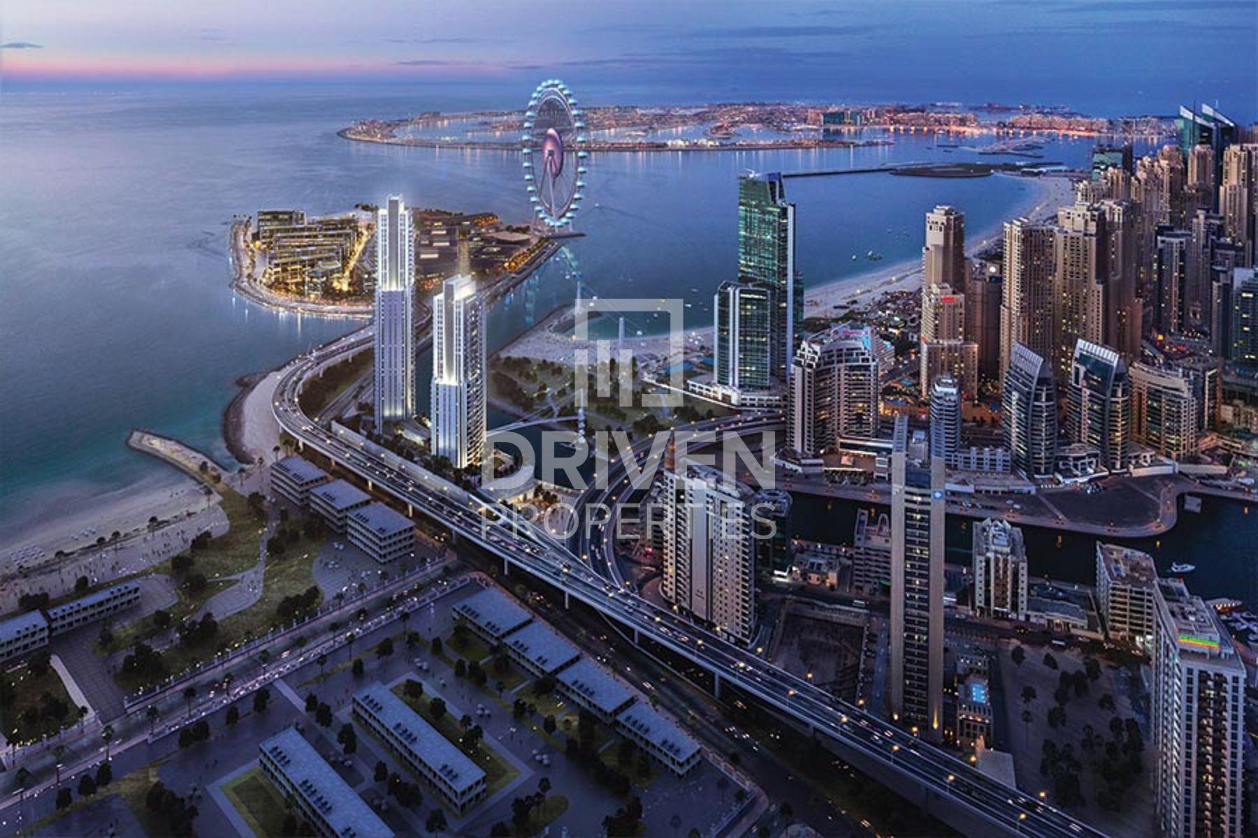 1,116 قدم مربع  شقة - للبيع - دبي مارينا