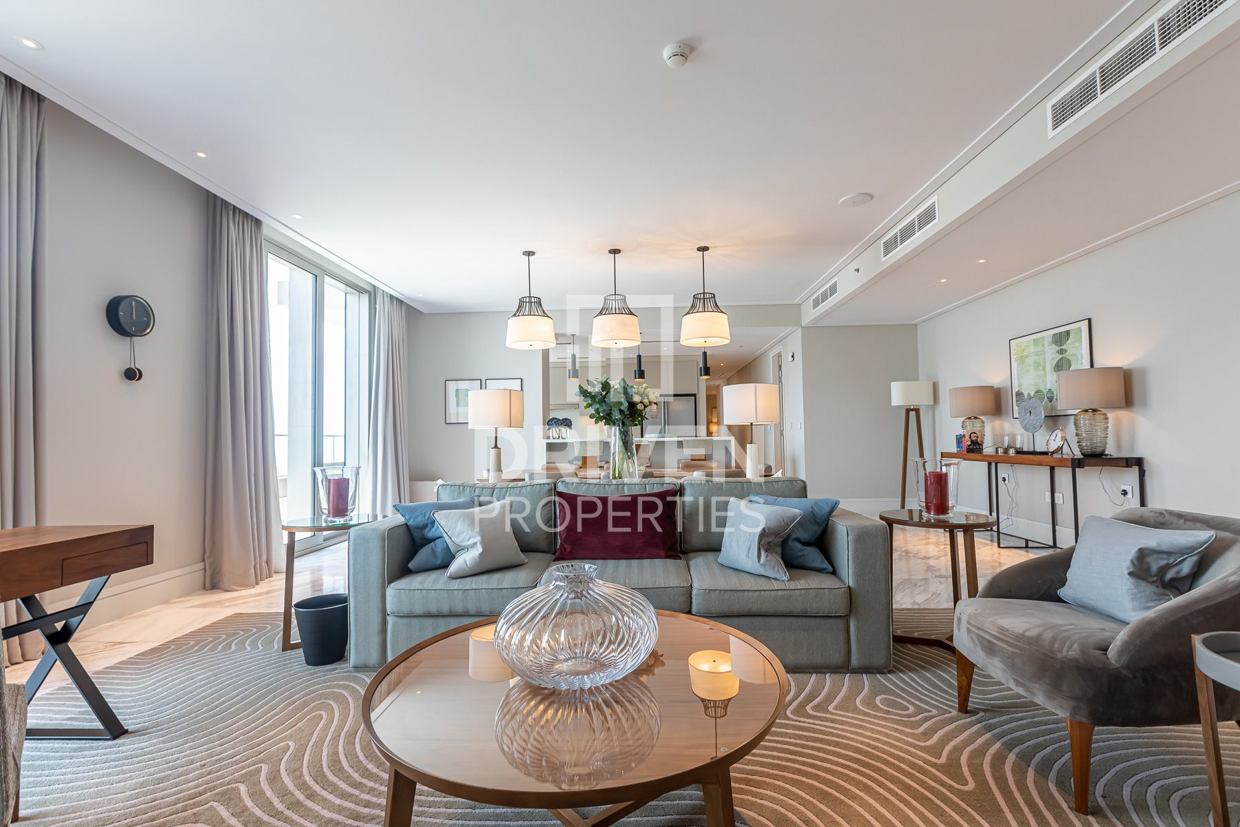 Largest and Luxurious Apt | Full Burj View