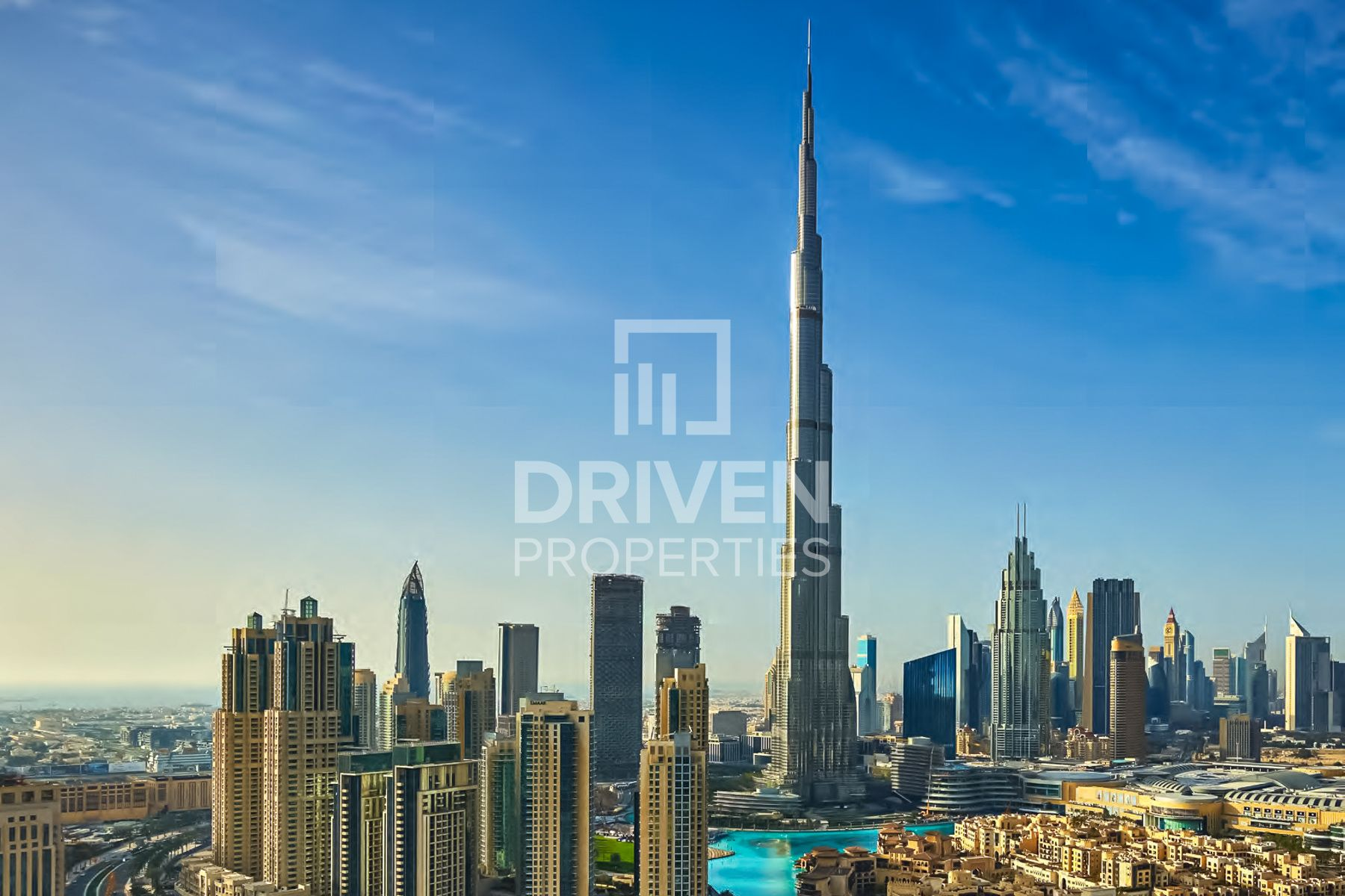 Exclusive | Full Burj and Fountain Views