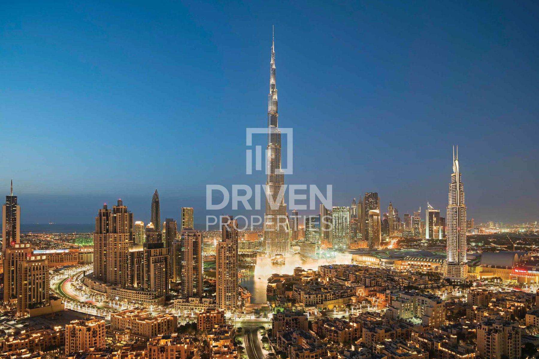 Facing Burj Khalifa | Prime Location Apt
