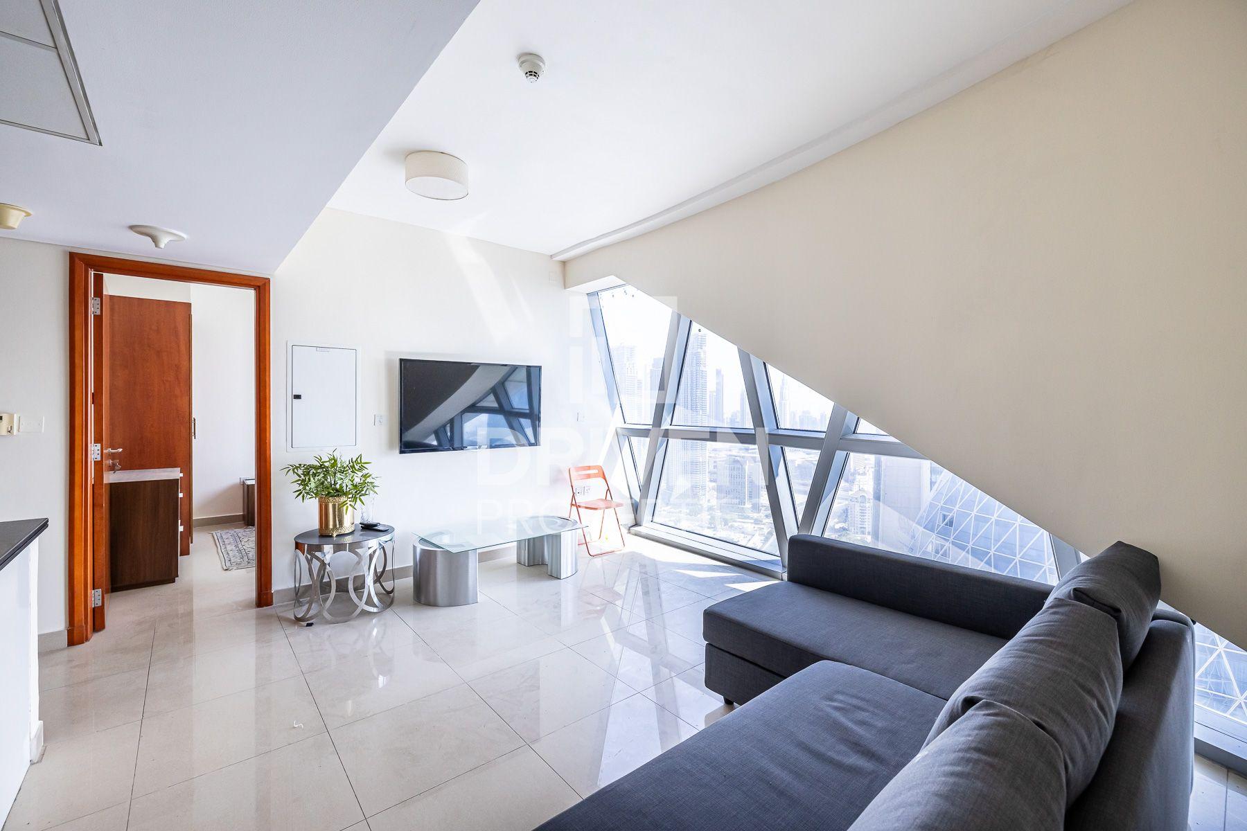 821 قدم مربع  شقة - للايجار - مركز دبي المالي العالمي