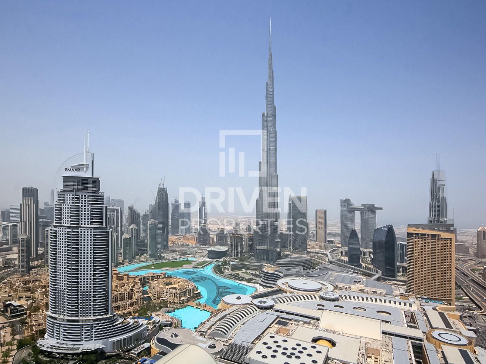 Burj Khalifa view   Furnished   Spacious