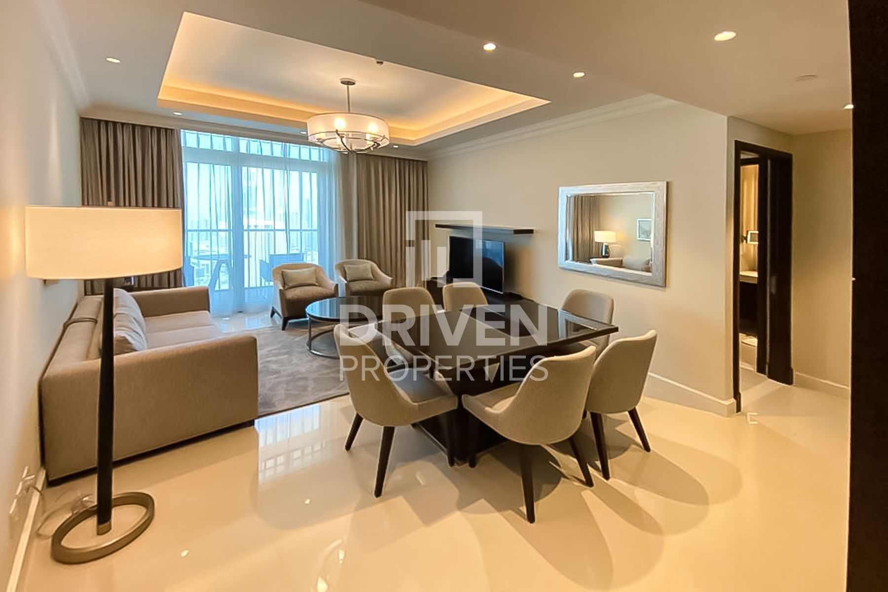 Furnished | Modern Apt and On High Floor