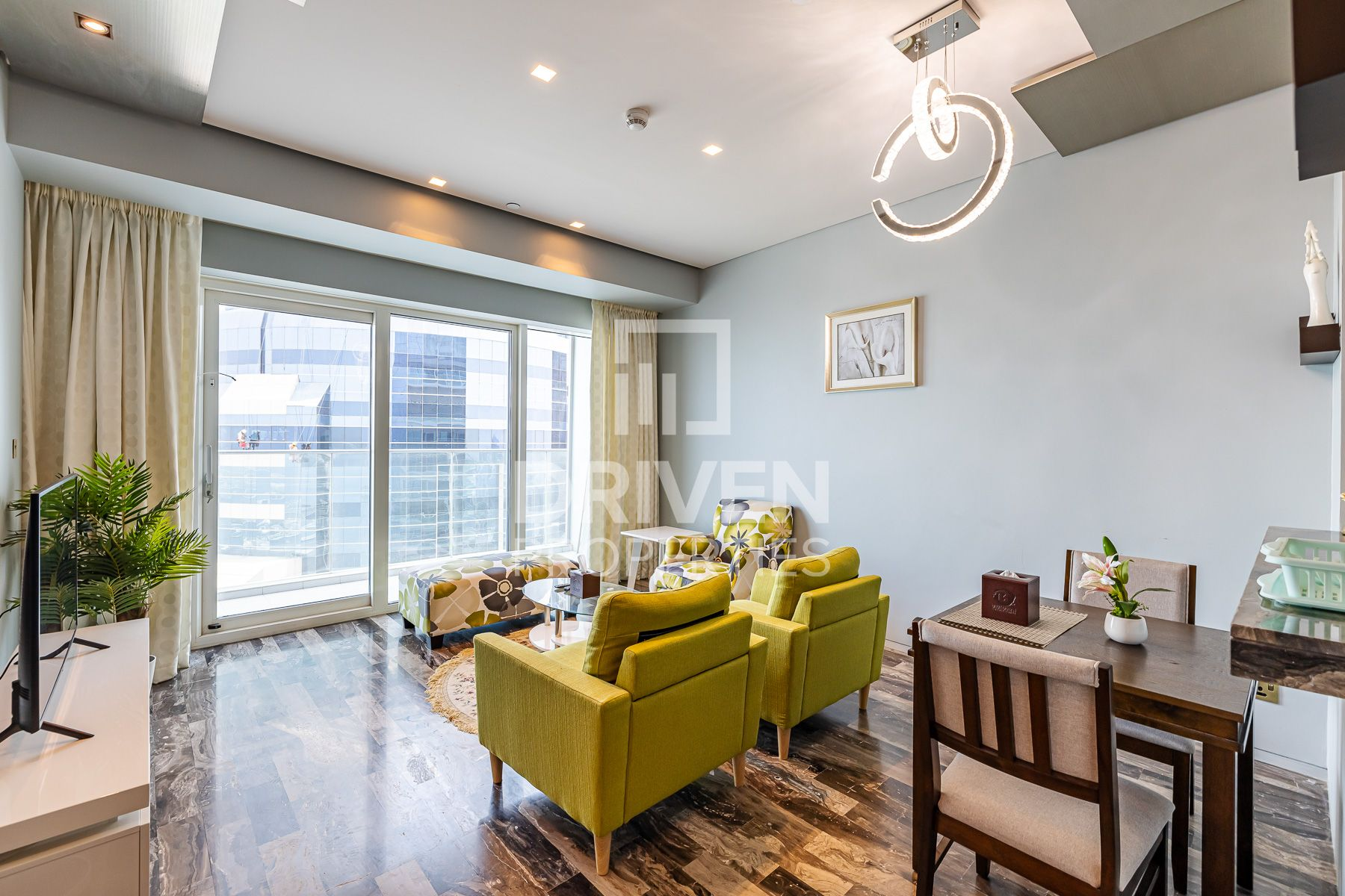 Fully Furnished | High Floor w/ Sea View