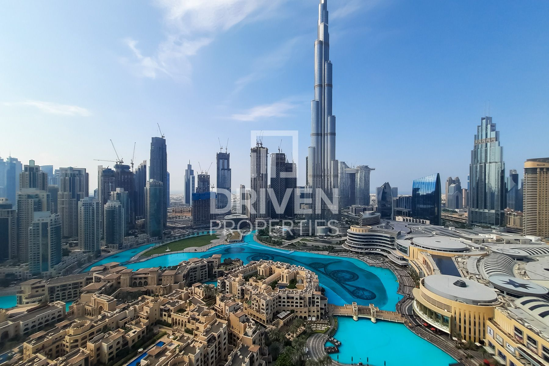 Elegant with Full Burj and Fountain View