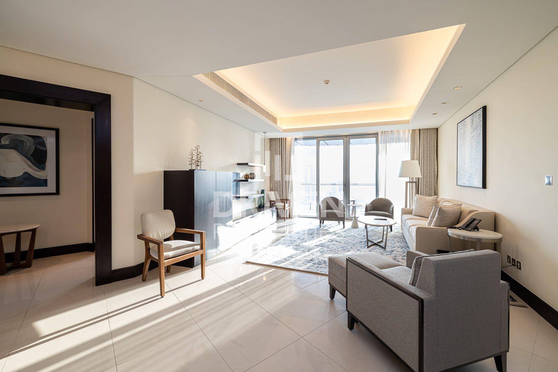 Luxurious   Full Burj and Fountain Views