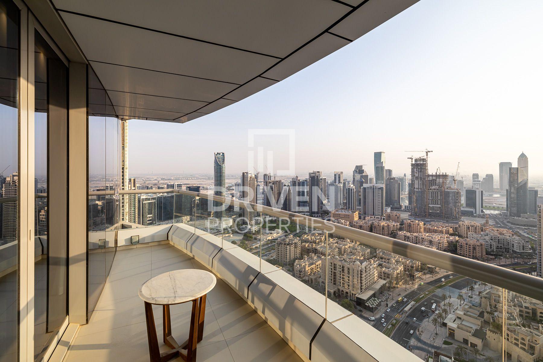 للبيع - شقة - فندق العنوان داونتاون - دبي وسط المدينة