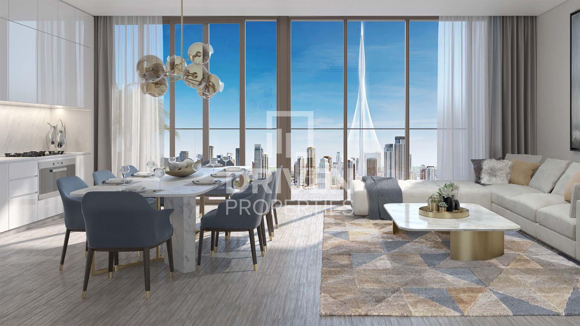 للبيع - شقة - بالاس رزيدنسز - ميناء خور دبي