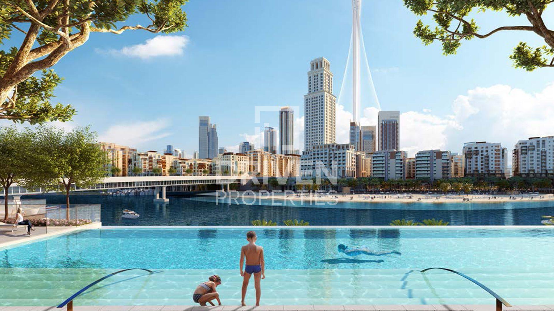 705 قدم مربع  شقة - للبيع - ميناء خور دبي
