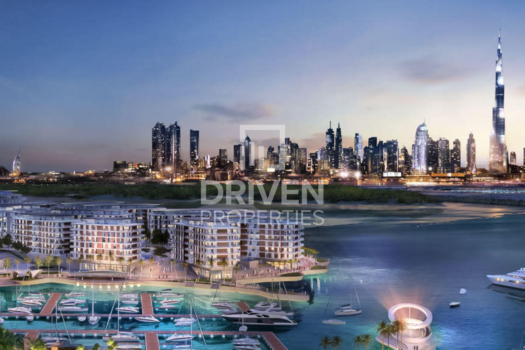 3,349 قدم مربع  تاون هاوس - للبيع - ميناء خور دبي