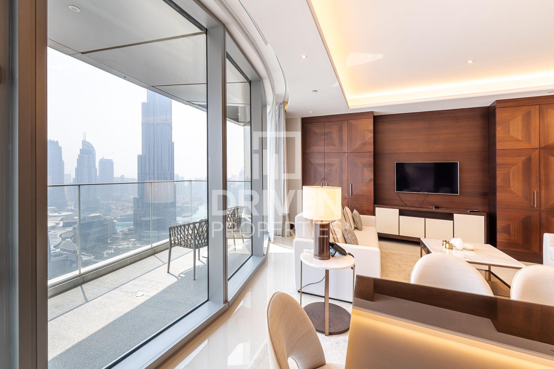 Iconic Burj Khalifa View | Modern Layout