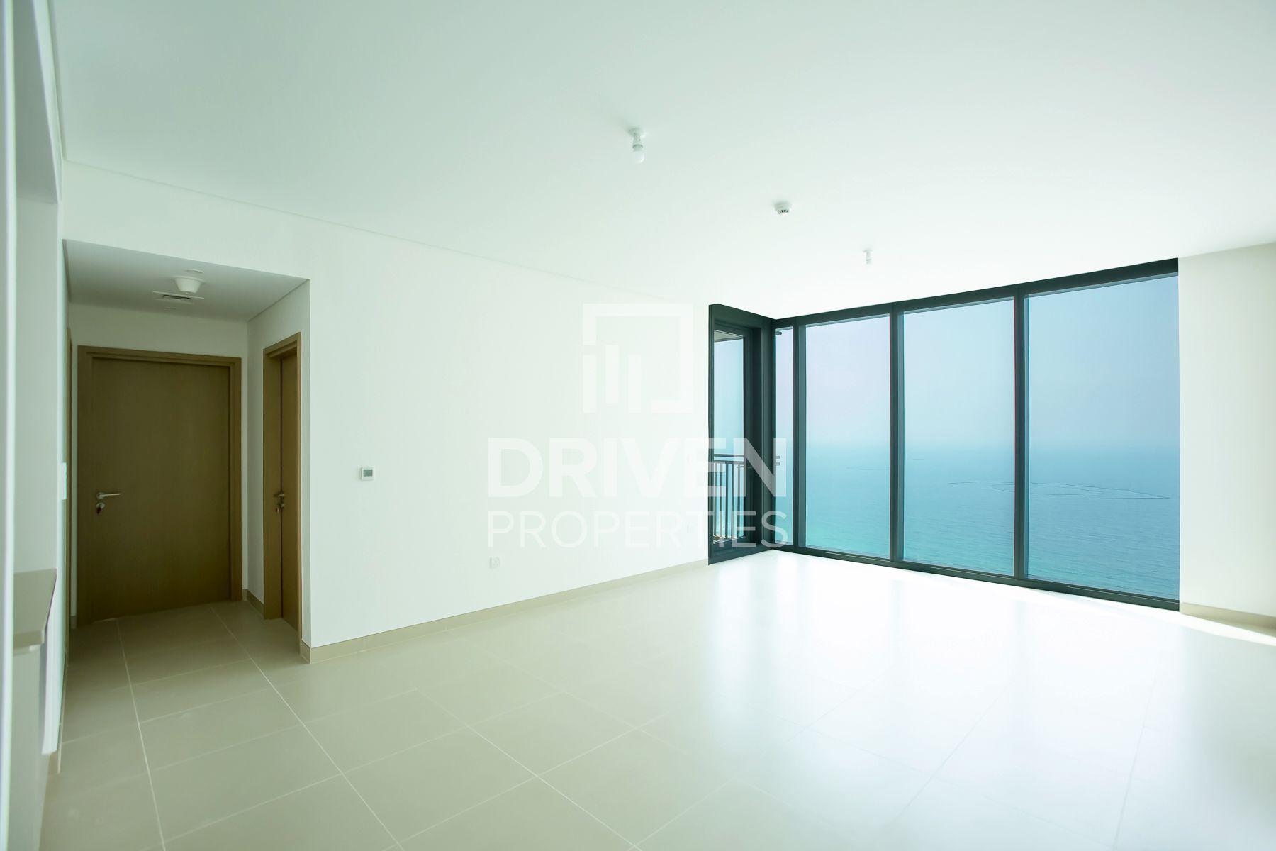 Corner Unit with Sea and Jebel Ali Views